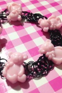 Teddy Bear Tattoo Choker
