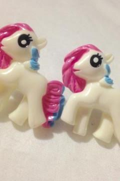 Large Pony Earrings